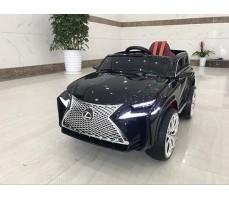 Детский электромобиль RiverToys Lexus Е111КХ Black