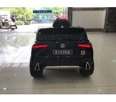 фото Детский электромобиль RiverToys Lexus Е111КХ Black