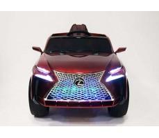 фото Детский электромобиль RiverToys Lexus Е111КХ Red