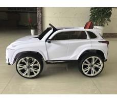 фото Детский электромобиль RiverToys Lexus Е111КХ White