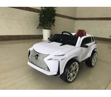 Детский электромобиль RiverToys Lexus Е111КХ White