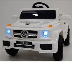 Детский электромобиль RiverToys Merc О004ОО VIP White