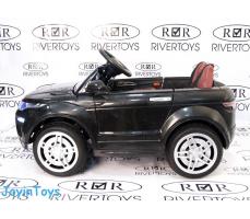 фото Детский электромобиль RiverToys Range О007ОО VIP Black