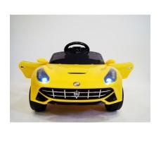 Переднее фото детского электромобиля RiVERTOYS Ferrari O222OO Yellow