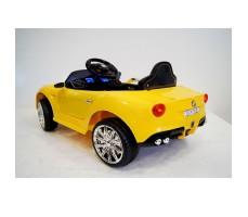 Заднее фото детского электромобиля RiVERTOYS Ferrari O222OO Yellow