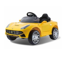 Детский электромобиль RiverToys Ferrari O222OO Yellow
