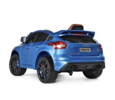 фото электромобиля FORD FOCUS RS Blue вид сбоку