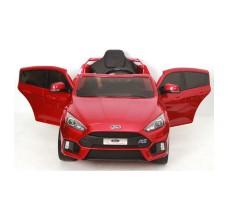 фото электромобиля FORD FOCUS RS Cherry с открытыми дверями вид спереди