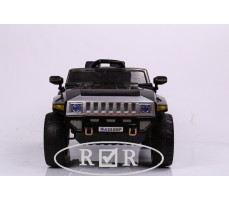Фото электромобиля RiverToys Hummer A888MP Black вид спереди