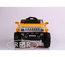 Фото электромобиля RiverToys Hummer A888MP Yellow вид спереди