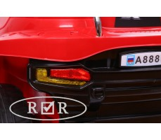 Фото габаритных огней электромобиля RiverToys Hummer A888MP Red