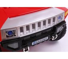 Фото бампера электромобиля RiverToys Hummer A888MP Red