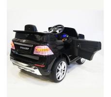 фото детского электромобиля RiverToys Jaguar P111BP Black сзади