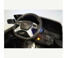 фото руля и панели приборов детского электромобиля RiverToys Jaguar P111BP Black