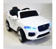 Детский электромобиль RiverToys Jaguar P111BP White