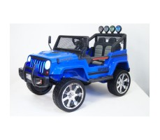 Электромобиль River Toys Jeep T008TT Blue