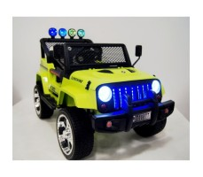Электромобиль River Toys Jeep T008TT Green