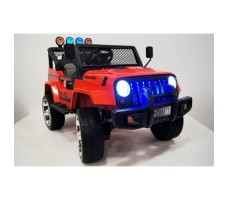 Электромобиль River Toys Jeep T008TT Red