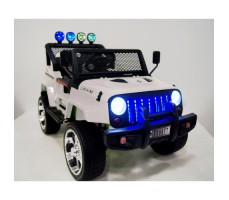 Электромобиль River Toys Jeep T008TT White