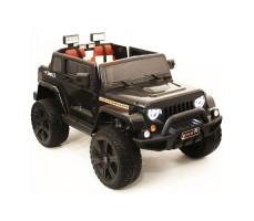 Электромобиль River Toys Jeep Wrangler O999OO 4x4 Black