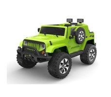 Электромобиль River Toys Jeep Wrangler O999OO 4x4 Green