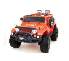 Электромобиль River Toys Jeep Wrangler O999OO 4x4 Orange
