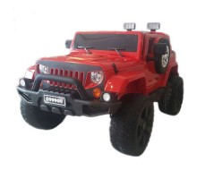 Электромобиль River Toys Jeep Wrangler O999OO 4x4 Red
