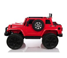 Электромобиль River Toys Jeep Wrangler O999OO 4x4 Red вид сбоку