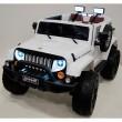 Электромобиль River Toys Jeep Wrangler O999OO 4x4 White