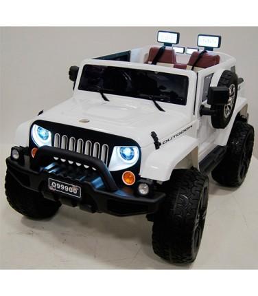 Электромобиль River Toys Jeep Wrangler O999OO 4x4 White  | Купить, цена, отзывы