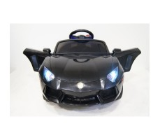 Фото электромобиля River Toys Lamborghini Е002ЕЕ Black вид спереди