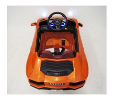 Фото электромобиля River Toys Lamborghini Е002ЕЕ Orange вид сзади