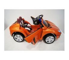 Фото электромобиля River Toys Lamborghini Е002ЕЕ Orange вид сбоку
