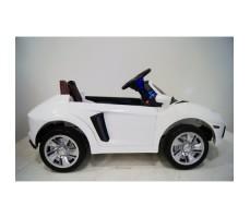 Фото электромобиля River Toys Lamborghini Е002ЕЕ White вид сбоку