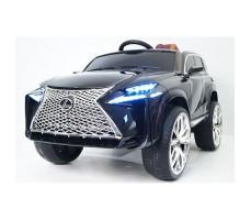 Детский электромобиль RiverToys Lexus E111KX Black