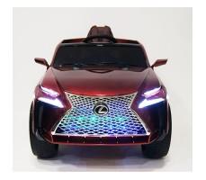 фото детского электромобиля RiverToys Lexus E111KX Red спереди