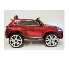 фото детского электромобиля RiverToys Lexus E111KX Red сбоку
