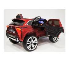 фото детского электромобиля RiverToys Lexus E111KX Red сзади