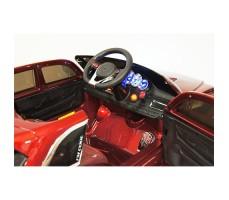 фото руля и панели приборов детского электромобиля RiverToys Lexus E111KX Red