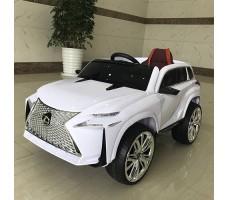 Детский электромобиль RiverToys Lexus E111KX White