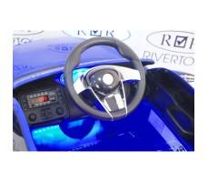 Фото электромобиля River Toys Maserati A005AA Blue вид из кабины