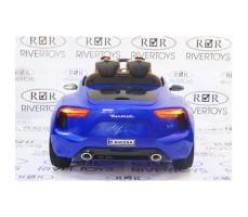 Фото электромобиля River Toys Maserati A005AA Blue вид сзади