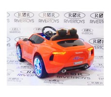 Фото электромобиля River Toys Maserati A005AA Red вид сзади