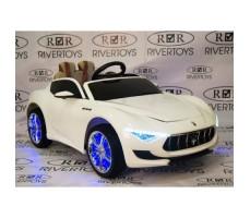 Электромобиль River Toys Maserati A005AA White