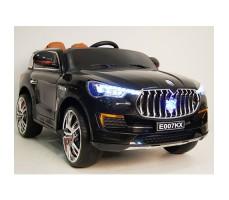 Детский электромобиль RiverToys Maserati E007KX Black