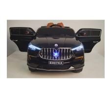 фото детского электромобиля RiverToys Maserati E007KX Black спереди