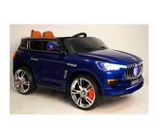 Детский электромобиль RiverToys Maserati E007KX Blue