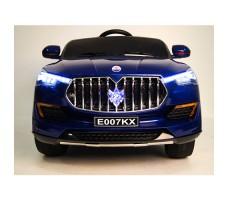 фото детского электромобиля RiverToys Maserati E007KX Blue спереди