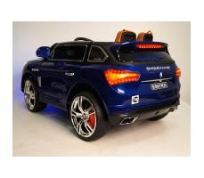 фото детского электромобиля RiverToys Maserati E007KX Blue сзади