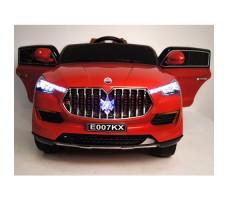 фото детского электромобиля RiverToys Maserati E007KX Red спереди